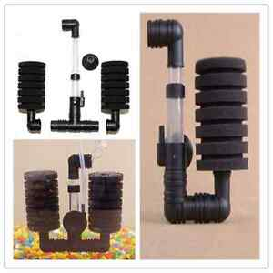 New-Practical-Aquarium-Biochemical-Sponge-Filter-Fish-Shrimp-Tank-Air-Pump-X-Z
