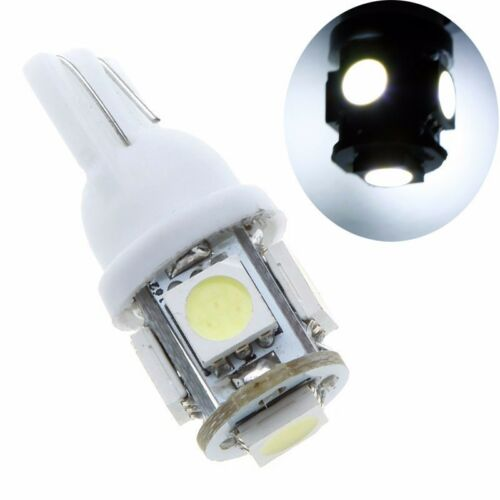 20PCS T10 5050 5SMD White LED Car Light Wedge Lamp Bulbs Super Bright DC12V 20x