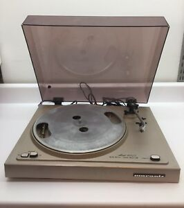 Details about Vintage Marantz turntable 6025 Belt Drive Auto Shut Off,  Record Player, As Is