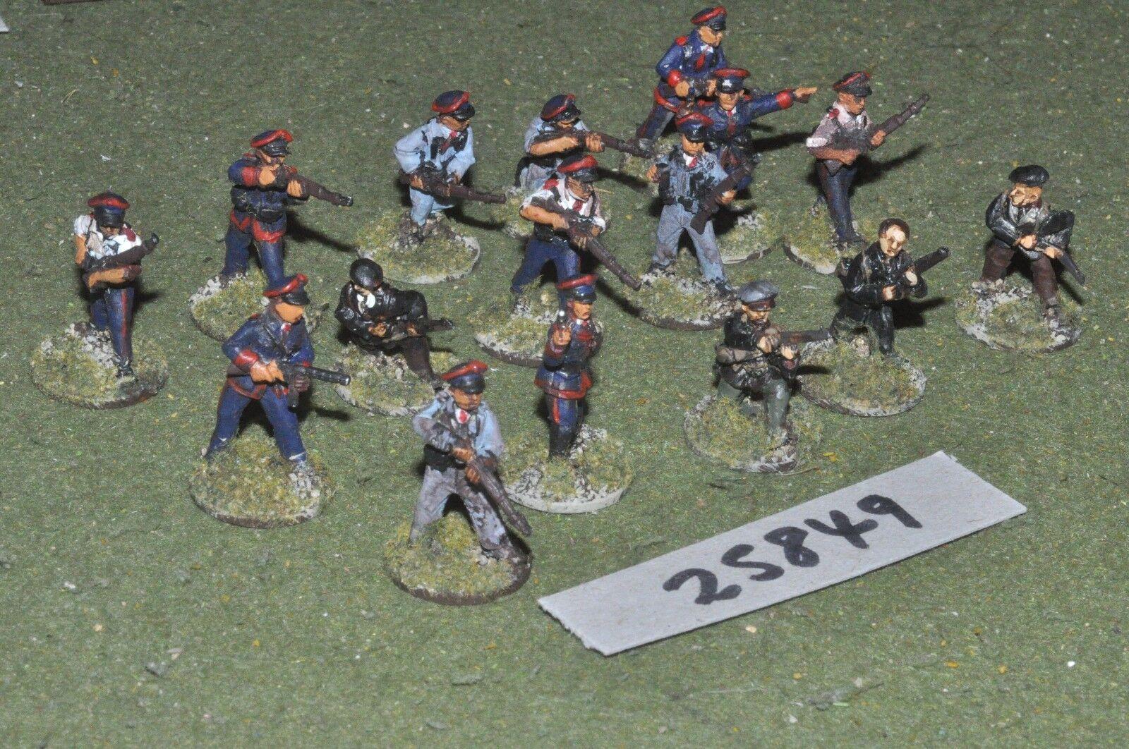 25mm WW2   british - V B C W 16 figures - inf (25849)