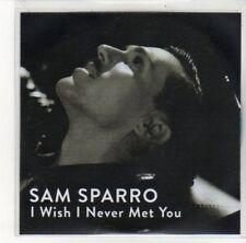 (DK330) Sam Sparro, I Wish I Never Met You - DJ CD