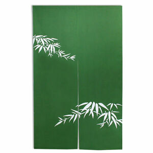 Japanese 60 quot green bamboo quot take quot doorway room ider curtain tapestry
