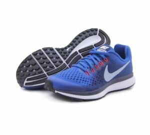 1a8fff6b Details about NEW Nike Air Zoom Pegasus 34 Youth Size 4.5Y Athletic Shoes  Blue 881953-401