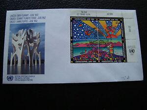 Vereinten-Nationen-Vienne-Umschlag-1er-Tag-1992-cy69-Vereinigte-Nationen