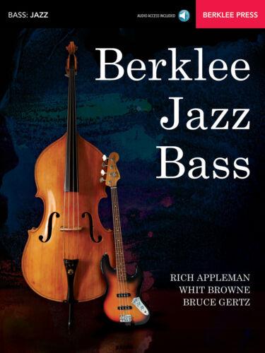 Berklee Jazz Bass Double Bass or Bass Guitar Learn MUSIC BOOK /& ONLINE AUDIO