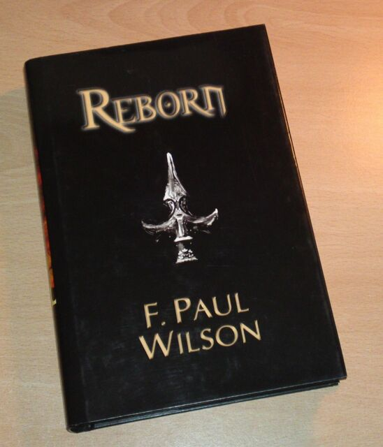 Reborn by F. Paul Wilson SIGNED LTD edition Borderlands LIMITED EDITION