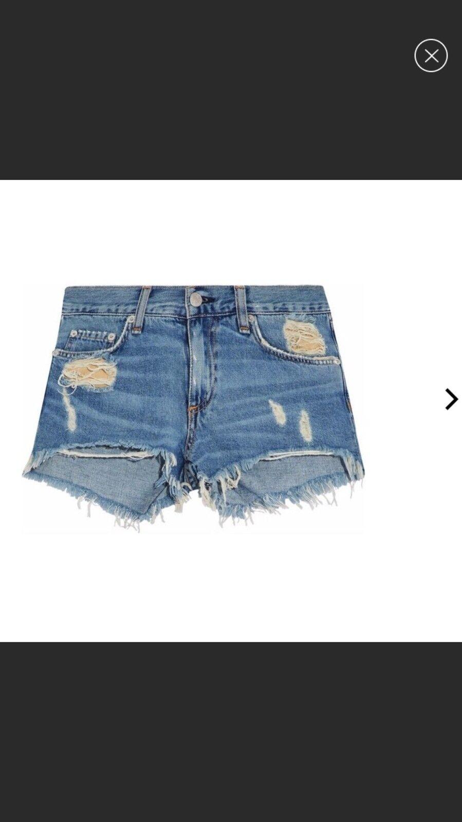 Rag & Bone   Jean Distresseddenim Shorts