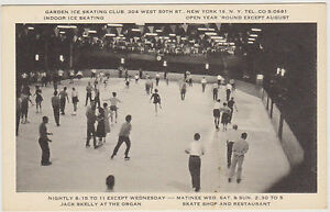 Garden Ice Skating Rink At 50th St Madison Square Garden Open Year Round Nyc Ebay