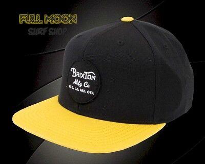 BRIXTON WHEELER DENIM BLUE SNAPBACK TRUCKER HAT//CAP 100/% AUTHENTIC NEW w//TAG!!