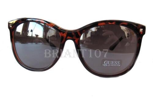 Nouveau GUESS GF0302 Ambre-Black//Gray miroir Lunettes de soleil femme 75 $