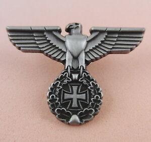 Pin-REICHSADLER-u-Eisernes-Kreuz-Militaria-EK-Butterfly-Verschluss-298