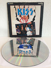 Kiss - Animalize | Live + Uncensored | Laserdisc | Love Gun, Lick It Up | LD