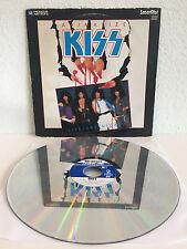 Kiss - Animalize | Live + Uncensored | Laserdisc | Love Gun, Lick It Up | LD