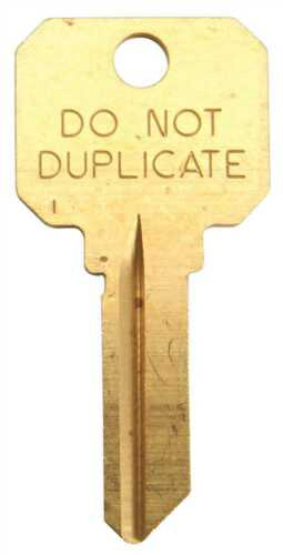 Quantity 25 Kaba Ilco DND-SC1 Schlage No Duplicate Key Blank