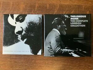T-Monk-Columb-Years-3cds-amp-London-Coll-3cds-6cds-Monk-allGood-cond-cool
