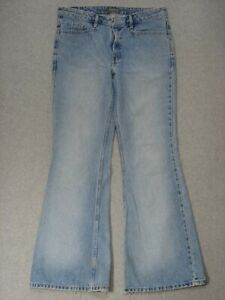 SA13422-2001-LEVI-039-S-SILVER-TAB-FLARE-WOMENS-JEANS-sz9M