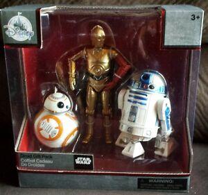 Star-Wars-Figures-R2D2-C3PO-BB8-Die-Cast-Elite-Series-Disney-NEW