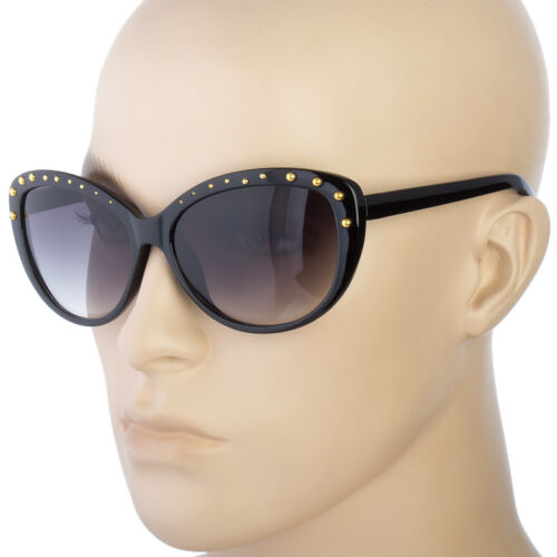 Designer Cat Eye Vintage Rhinestones Full Rim Women Fashion Sunglasses b