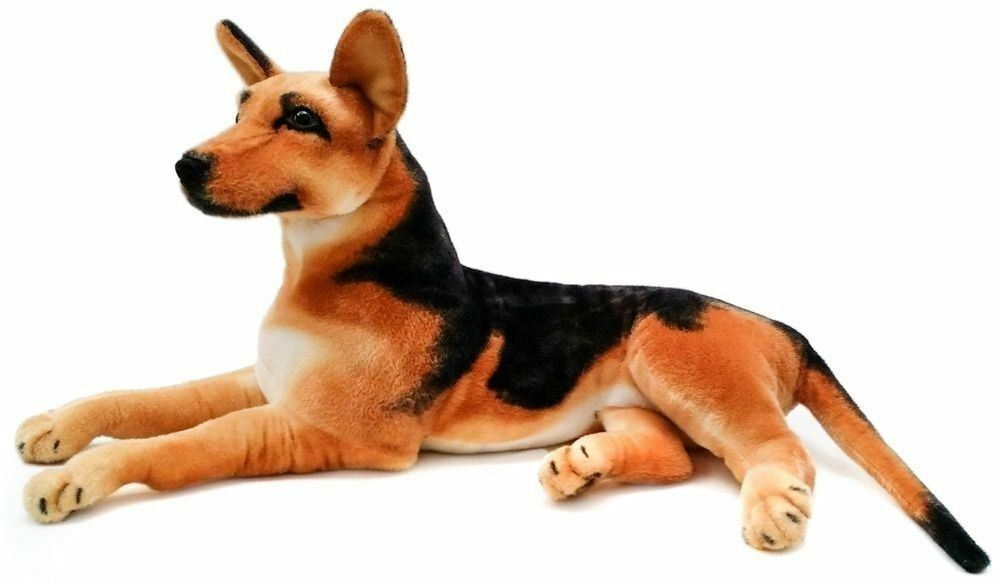 Hilde the German Shepherd | 3 Foot  Without Tail  Stuffed Animal Plush Dog