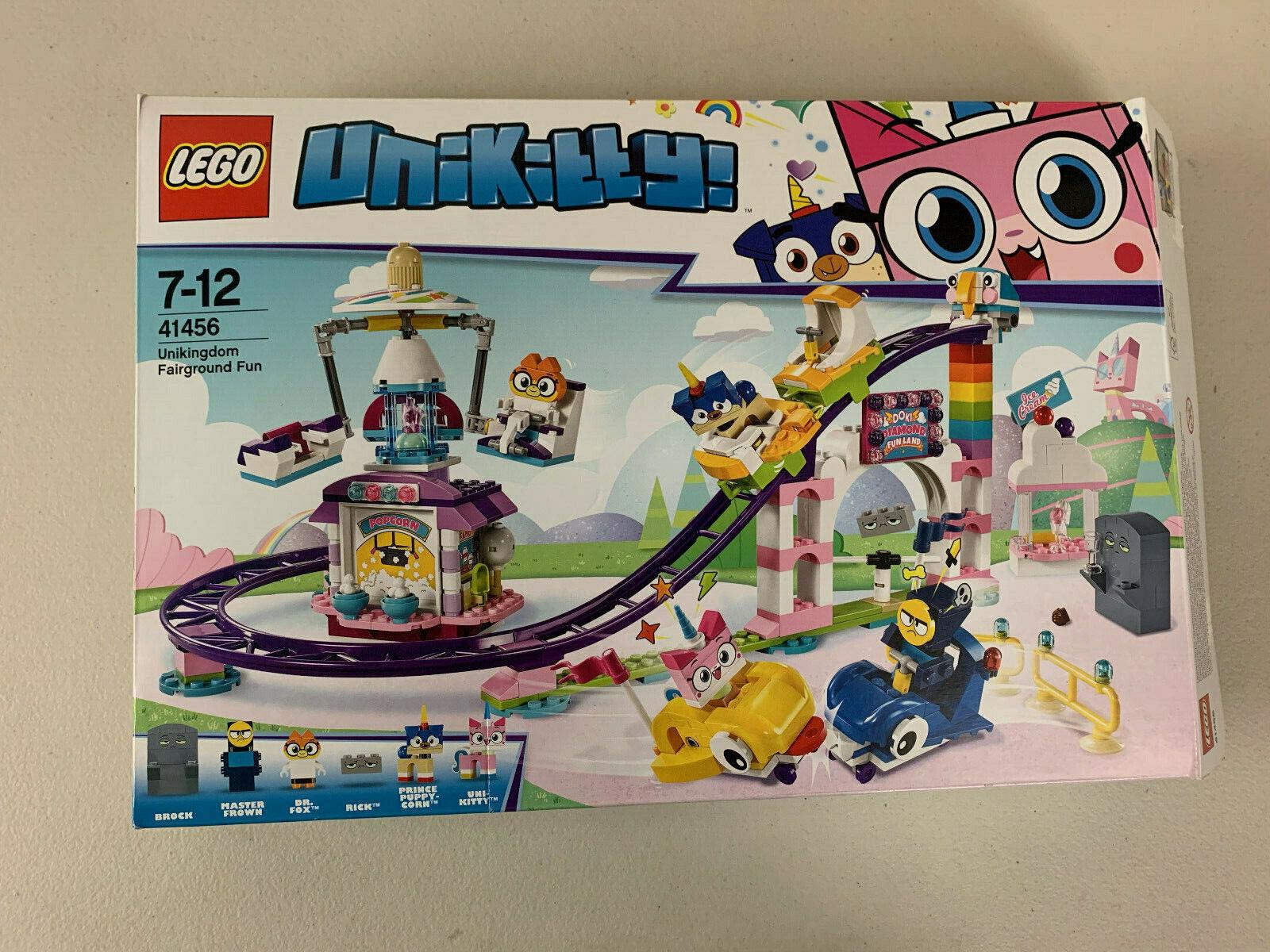 produttori fornitura diretta Genuine LEGO Unikitty 41456 Uniredom Fairgrount divertimento IN scatola scatola scatola completare  salutare