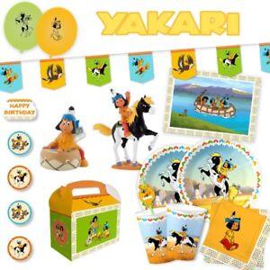 Yakari Kindergeburtstag Indianer Mottoparty Deko Ebay