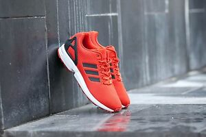 bf419f759 adidas Originals ZX Flux Craft Chili Trainers Red Trainers Men s ...