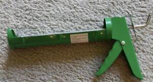 "Caulking Gun 9/"" Standard Size Manual Cartridge Rotating Barrel Ratcheting CAL436"