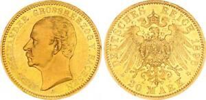 20 Mark Carl Alexander 1896 A Deutsches Empire Gold Reichsmark (WS49831)