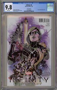 Infinity-6-CGC-9-8-Dodson-Hero-Variant-War-Gauntlet-Endgame-Avengers-Spider-Man
