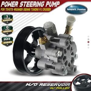 Power Steering Pump w/Pulley for Toyota 4Runner FJ Cruiser