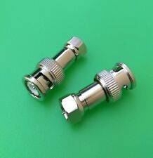 (10 PCS) BNC Male to F Male Connector - USA Seller