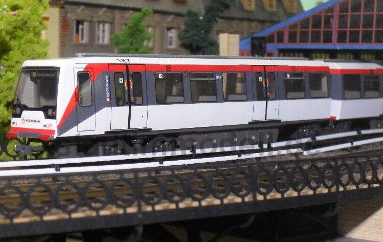 Stadt im Modell 4005B U-Bahn DT4.5 208 Hamburger Hochbahn DC ohne Antrieb