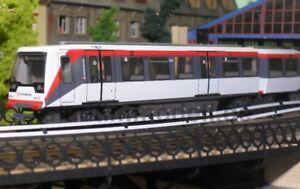 Stadt im Modell 4005A U-Bahn DT4.5 188 Hamburger Hochbahn DC ohne Antrieb