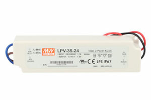 Alimentatore-Trasformatore-CV-MeanWell-Impermeabile-IP67-24V-35W-1-5A-LPV-35-24