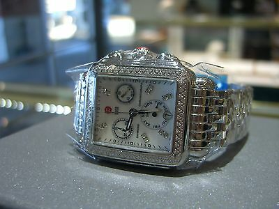 MICHELE WATCH Deco Day Diamond, Diamond Dial Authentic with Box & Papers NEW!!~~