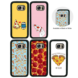 Details About Pizza Bumper Case For Samsung Galaxy S6 S7 Edge S8 S9 Plus Cover