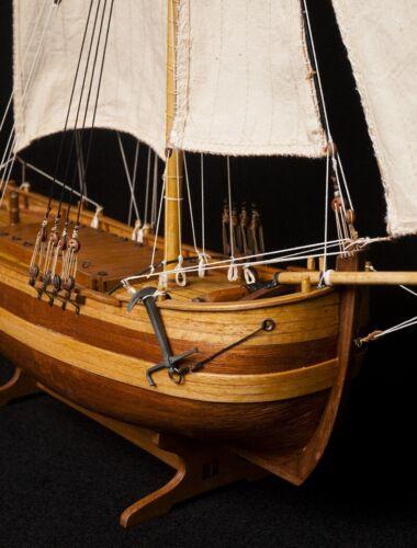 "Chapman Scale 1//50 485 MM 19/"" Wood Ship Model Kit"