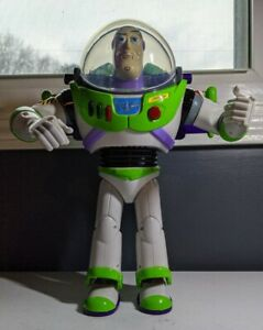 Disney-Toy-Story-Ultimate-Buzz-Lightyear-Talking-Mouth-Moving-Action-Figure-READ