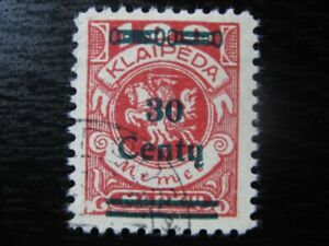 MEMEL-KLAIPEDA-Mi-227-scarce-used-stamp-CV-36-00