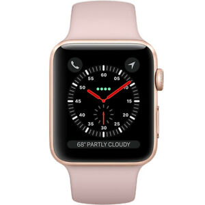iWatch Series 3(GPS+CEL) 38mm Case Rose gold Aluminum Case With Apple Warranty