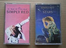 2 x SIMPLY RED CASSETTES - A NEW FLAME & STARS