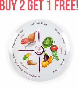 World-Slimming-Diet-Plate-Divided-Portion-Control-Weight-Loss-Watchers-Sections