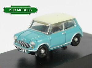 BNIB-N-GAUGE-OXFORD-1-148-NMN008-Mini-Surf-Blue-Car