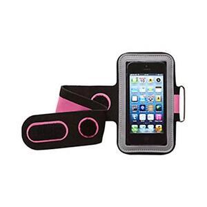 Groov-e-gvam1-Alta-Calidad-De-Neopreno-Deporte-Armband-para-dispositivos-moviles-rosa-negro