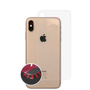 3x-Curved-Anti-Shock-Pellicola-protettiva-Apple-iPhone-XS-Max-Back-cover