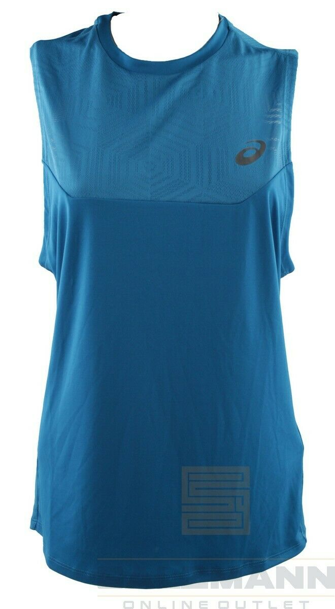 Asics Womens Top Size S Blue New