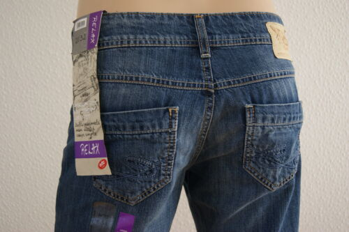 NUOVO EDC by Esprit Jeans Slavati-used-Jeans donna Relax Fit