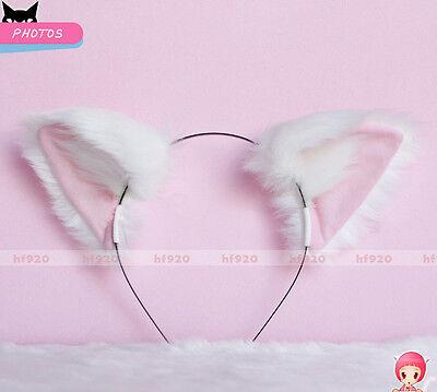 New Touhou Project Inubashiri Momizi Anime Cosplay Fox Cat ears Headband