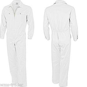Das Bild wird geladen Maleroverall-Rallyekombi-Overall-Arbeitskleidung-weiss 259335f053