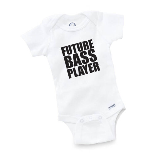Future Bass Player Onesie Baby Clothing Shower Gift Geek Funny Cute Toddler